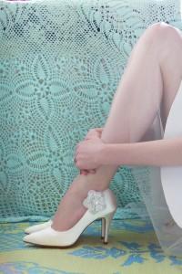 Vivian Rainbow Elsa Coloures shoes Eindhoven Laura van Rooij Bruidscouture